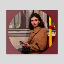 Metro - Acrylic by Erdem Çılgın