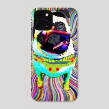 Pug - Phone Case by Marcia Pinho