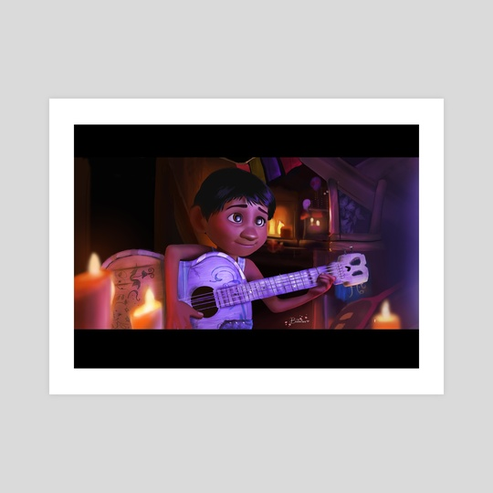 [FanArt] Miguel from Coco by Batirtze Abuin