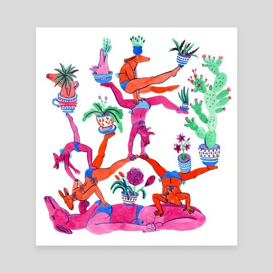 Gymnastics by Lisa Hanawalt