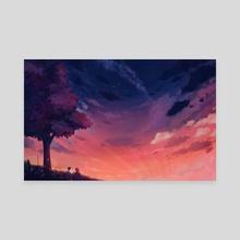 Lift Your Spirit - Canvas by Aurora Lion