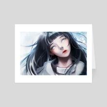 Hyuga - Art Card by Lydia Baek