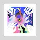Spyurk - Art Print by Jeff Bartell