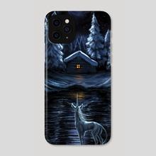 Winter Unicorn - Phone Case by Katerina Romanova