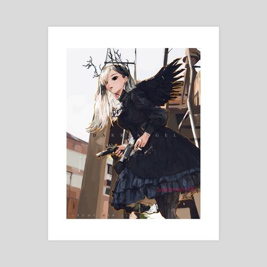 Dark Angel II by jammyarts