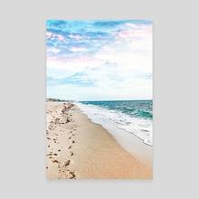 A Walk On The Beach - Canvas by 83 Oranges