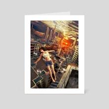 The Windup Girl - Art Card by Shayu Dan