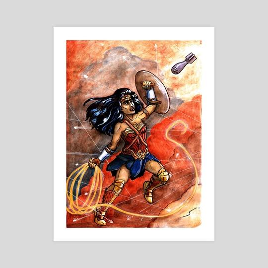 Wonder Woman by Fiona Dunn