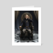 Lord Xavier - The Order of X - Art Card by Nate Hallinan