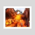 Mythic Spells - Art Print by Denman Rooke