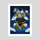 Winter Link - Art Print by Lerryn Johnson