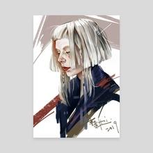 AURORA - Canvas by Hui Hui Wong