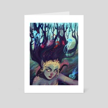 Abyss Creature - Art Card by Melissa Falconi