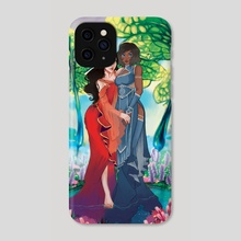Korra and Asami - Phone Case by Natalie Lucht