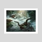 Sudden Storm - Art Print by Adam Paquette