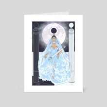 The High Priestess  - Art Card by Boston Morella