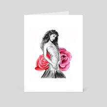 Natalia - Art Card by Ioanna Kolokotroni
