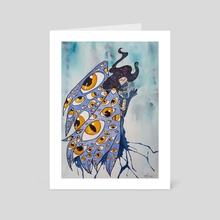 temporary manifestation - Art Card by Lesath Lux