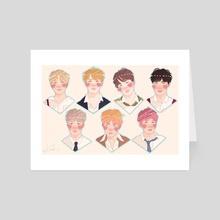 BTS - Art Card by Shannon Khloë