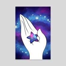 Reach for the Stars - Canvas by Jon Nielsen