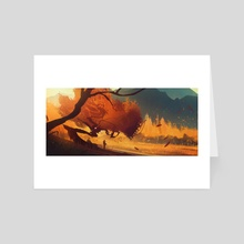 Autumn - Out again - Art Card by Bastien Grivet