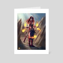 Idiris - Genesis Battle of Champions - Art Card by Damjan Gjorgievski
