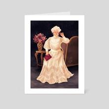 Lace - Art Card by AV Dragnire | vidamie