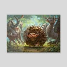 MtG - Almighty Brushwagg - Acrylic by Dmitry Burmak