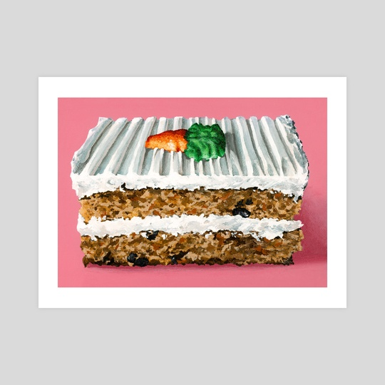 Carrot Cake by Mary Herrera