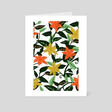 Tropical Rainforest - Art Card by 83 Oranges