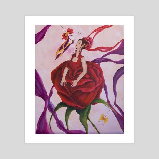 El beso de la Rosa by Paola Aragón Rocco