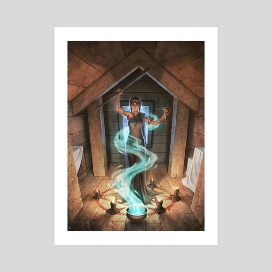 """Enlightened Magic"" by Matt  Zeilinger"