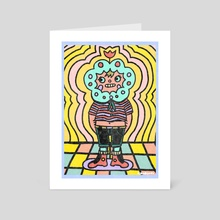WALLFLOWER - Art Card by KRABSNAX