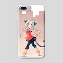 City Girl - Phone Case by Indré Bankauskaité