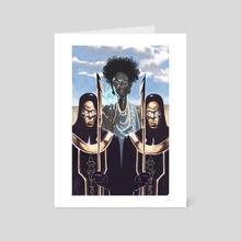 Priestess Nubia - Art Card by William Jamison