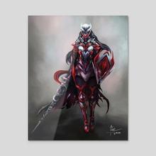 Celese - Battle Armor - Acrylic by Temarius Walker