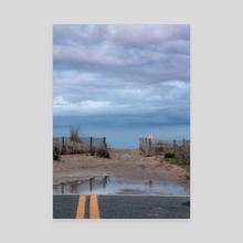 Dead End - Canvas by Sarah Mahaska