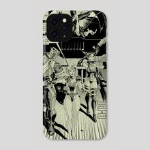 X-men Manga Page 5 - Phone Case by Joel Furtado