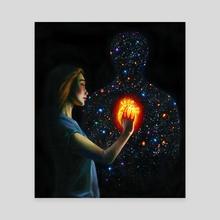 Mystery - Canvas by Olesya Umantsiva