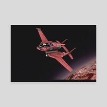 Spaceplane 2 - Canvas by 3DASP