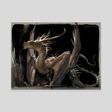 Dragon _ smaug - Canvas by Jaemin Kim