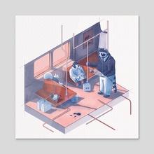TTCreatures - Acrylic by Kathleen Fu