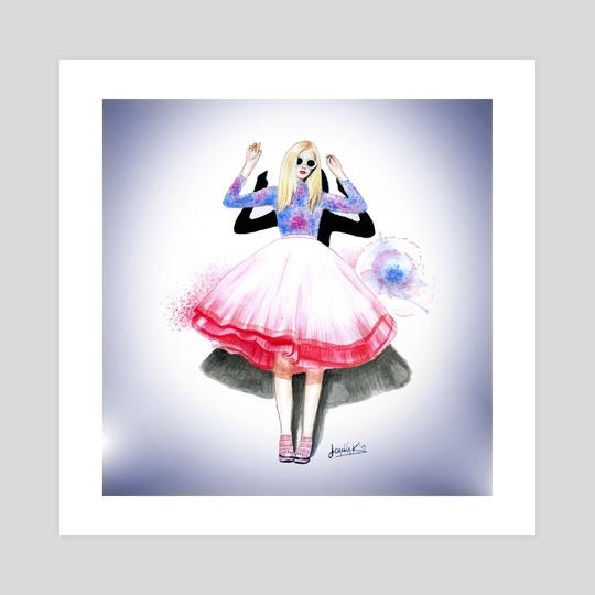 Fashion illustration 2 by Ioanna Kolokotroni