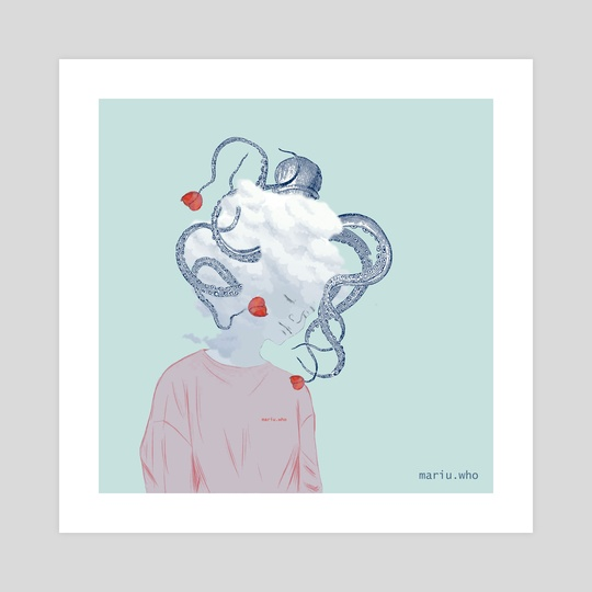 An octopus in the room by mariu.who