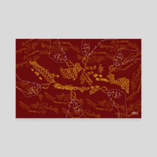 Indonesia in batik - Canvas by Dede