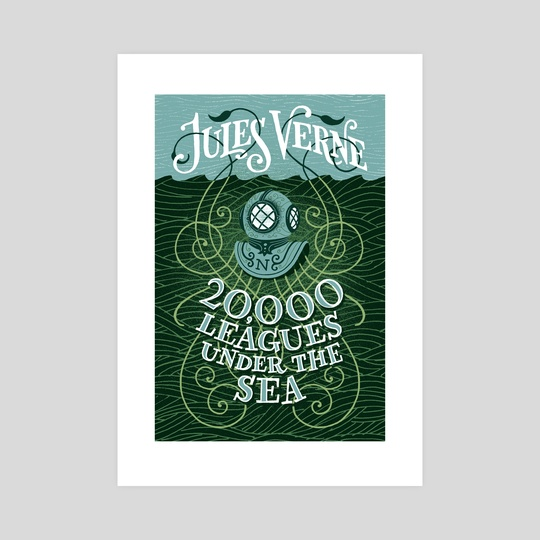 20,000 Leagues Under the Sea by Jim Tierney