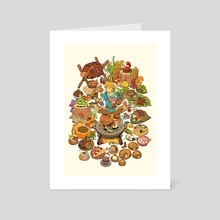 Food of the Wild - Art Card by Kami