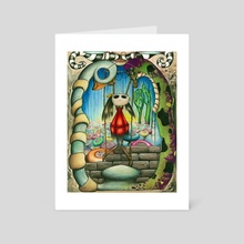 See my suspended light - Art Card by Anicha