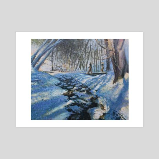 Carhearts in Snow by Garth Laidlaw