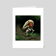 Mini Mononoke - Art Card by Aric Salyer